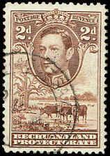 Scott # 127 - 1938 - ' George VI, Cattle and Baobab Tree '