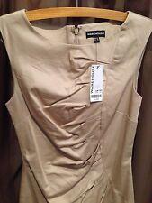 "Warehouse - Beige  Dress Size 10 Length 34"" - New"