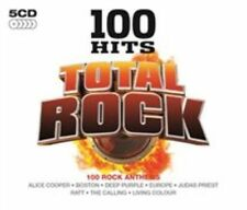 100 Hits: Total Rock by Various Artists (CD, Oct-2014, 5 Discs, 100 Hits)