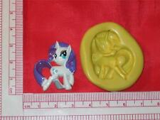 My Little Pony 2D Silicone Push Mold A755 Chocolate Fondant Gum Paste Cake Pop