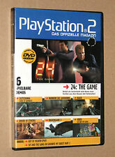 PS 2 Offizielle Magazin Demo DVD Drakengard 2 Sword of Etheria Black etc 03/2006