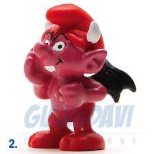 PUFFO PUFFI SMURF SMURFS SCHTROUMPF 2.0213 20213 Devil Smurf Puffo Diavolo 2A