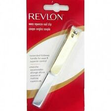 REVLON EASY FINGER TOE NAIL CLIPPER NIPPER CUTTER MANICURE TOOL GOLD 45391