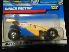 HW HOT WHEELS 1998 #700 SHOCK FACTOR DUNE BUGGY HOTWHEELS TOY STORY YELLOW VHTF