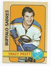 1972-73 TOPPS # 84 TRACY PRATT HOCKEY CARD - NICE AND NO CREASES !!!!