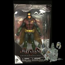 Batman ARKHAM KNIGHT Series 2 ROBIN Action FIgure DC Comics Entertainment!