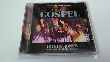 "BOBBY JONES AND THE NASHVILLLE SUPER CHOIR ""GIRA GOSPEL"" CD 13 TRACKS COMO NUEVO"