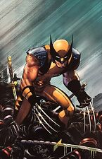 JOHN ROMITA JR giclee CANVAS Wolverine SIGNED stretched HFA EXCLUSIVE with COA