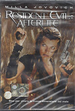 Dvd Video **RESIDENT EVIL: AFTERLIFE** con Milla Jovovich Nuovo Sigillato 2010