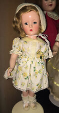 Pretty Hard Plastic Mary Hoyer Type doll Made In USA 13""