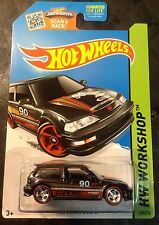 Hot Wheels CUSTOM Super Treasure Hunt '90 Honda Civic EF w Red Line Real Riders