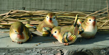 3rd Small Resin Wood Warbler Bird Figurine (1 bird only)
