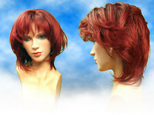 Short Modern Violet-Red Party Cosplay Hi Quality Fancy Dress Wig Woman/UK
