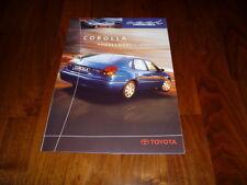 Toyota Corolla COOL LINE Prospekt 08/1999
