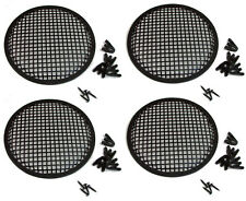 "4 Pack Penn Elcom G10 Speaker Grill With Mounting Hardware for 10"" Sub Woofers"