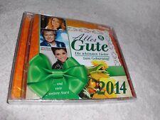 Alles Gute 2014 - Doppel  CD-OVP