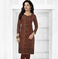 Elegant Cotton Multi Colour Printed Kurti Material No PK113