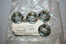 4 nos Yamaha snowmobile front suspension nuts srx sxr viper rx-1 vector apex