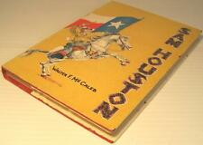 SAM HOUSTON * Walter F. McCaleb ~1958 1ST HBDJ ILLUSTRATED