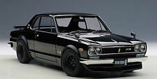 Autoart NISSAN SKYLINE GT-R KPGC10 TUNED VERSION BLACK 1:18*New*