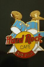 HRC Hard Rock Cafe Ankara Blue Drum Set Yellow Logo