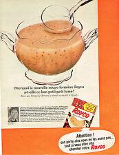 PUBLICITE ADVERTISING 054  1966  ROYCO   potage soupe  FERMIERE
