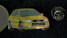 Audi Pin Badge A3 Projektzwo limited Edition 500 Stück gelb Auto Car