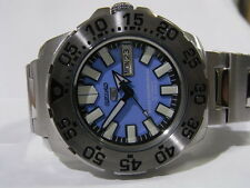 SEIKO5 MONSTER DIVER BLUE DIAL DIVER AUTOMATIC MINI MONSTER MEN S WATCH 7S26