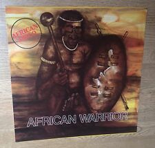 33 tours African Warrior afro disco reggae 1977 EXC