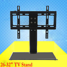 Desktop Mount Support Stand Bracket Replacement 26-32 LCD Plasma LED TV Screen