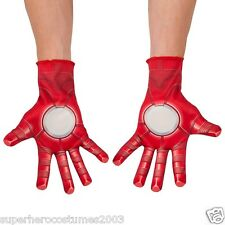 The AvengersAge of Ultron Iron Man Child Gloves Marvel Comics New Rubies 36350