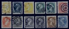 Canada Small Queen selection - Large Margins (Lot 10) - 12 Stamps - Very Fine