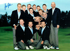 Stephen GALLACHER Ryder Cup Team Photo Signed Autograph 16x12 GOLF AFTAL COA