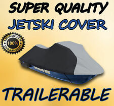600 DENIER Seadoo GTX 1996-1997 & 2000-2004 Jet Ski Watercraft Cover Grey/Black