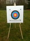 Archery 60x60cm Self Healing Foam Target Boss With Stand & 10 Target Faces