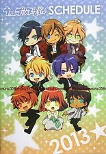 Uta no Prince-sama schedule book 2013 promo anime official note