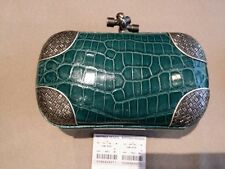 BNWT Bottega Veneta Iconic Knot Clutch In Crocodile~So Pretty!!!