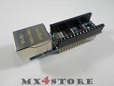 Nano Ethernet Shield v1.0 enc28j60 server web client Web Arduino Nano v3.0 adatto