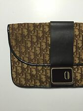 Vintage Christian Dior Clutch Purse Tapestry 70s 80s Envelope Bag Ladies
