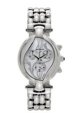 NEW Balmain Excessive 5651 Chrono Date Stainless Steel Ladies Watch Retail $795