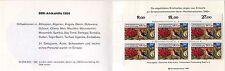 Markenheftchen Rotes Kreuz MH Berlin 1985 Michel Nr 745 ** Rotkreuz MH081