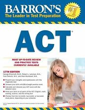 Barron's ACT, 17th Edition by Mundsack, Obrecht Hardly used! A fraction of cost