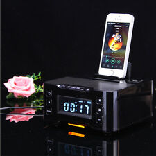 NFC Bluetooth Docking Station With FM Radio Alarm Clock For Samsung S7 S7 edge