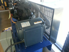 7.5hp 1740 RPM 215T Single Phase Leeson Compressor Motor # 140155