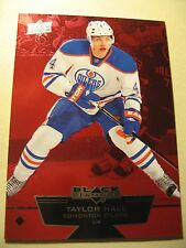 2012-13 Black Diamond Ruby #29 Taylor Hall 100/100 RARE #100 out of 100 !!!