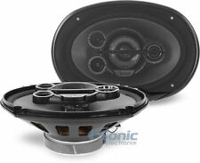 "NEW! Clarion SRG6953R 600W 6"" x 9"" 5-Way Coaxial Car Speakers w/ PEI Tweeters"