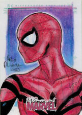 Women of Marvel Series Two Sketch Card by Helio Oliveira of Spider-Girl