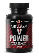 Male Enhancement Erection and Optimizes Sexual Health Unleash V Power (1 Bottle)