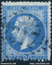 FRANCE EMPIRE N° 22 OBLITÉRATION GC 2317 MER LOIR ET CHER