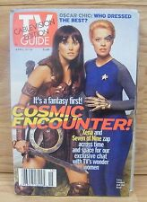 TV Guide April 10, 1999 (2402) Cablevision Edition - Lucy Lawless & Jeri Ryan